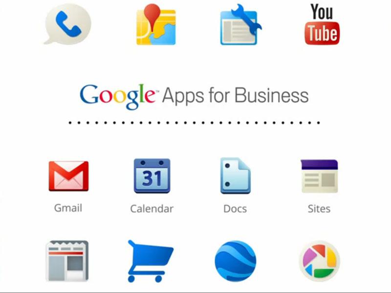 Logo of Google Business Apps