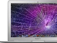 Macbook with Broken Screen