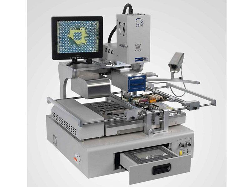 BGA Machine showing chip level motherbaord repair