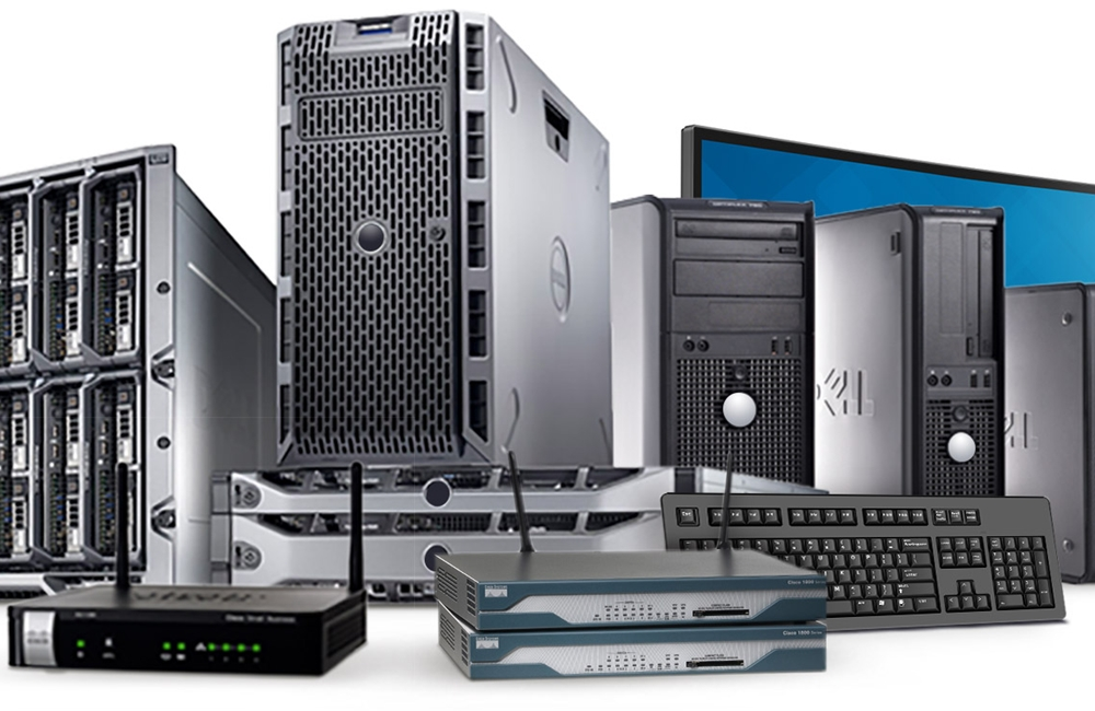 Dell Servers, Routers and Printers