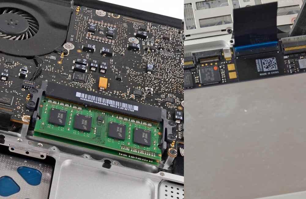 Keypad and Trackpad of Macbooks
